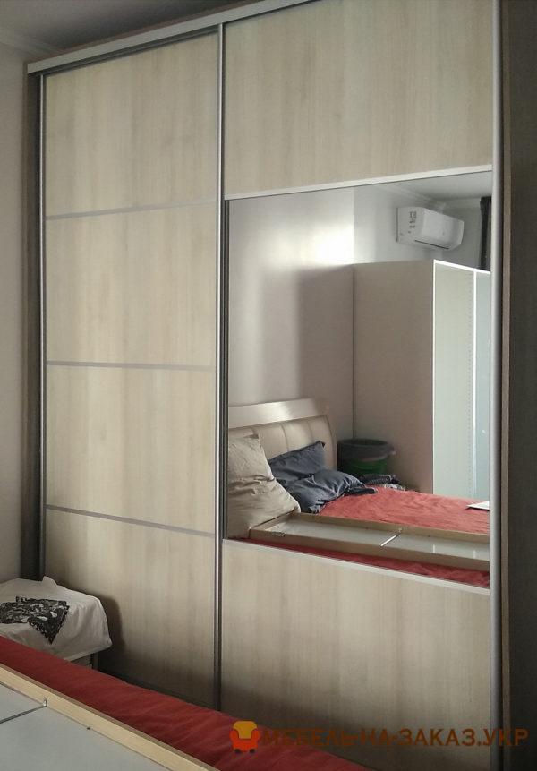 мебель в гардеробную с раздвижными дверями