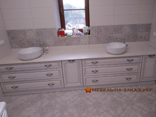 мебель в ванную от мебелартис
