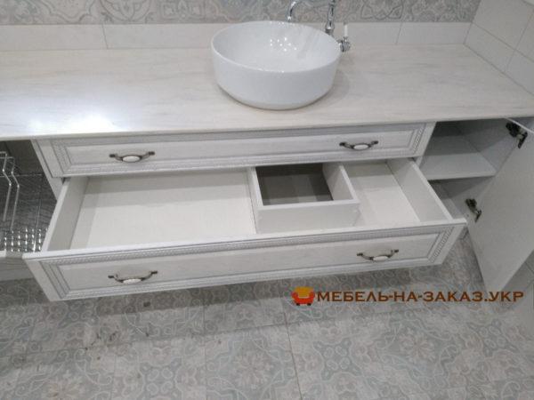 выбрать мебель под раковину