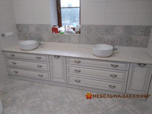 установка мебели в ванную Буча