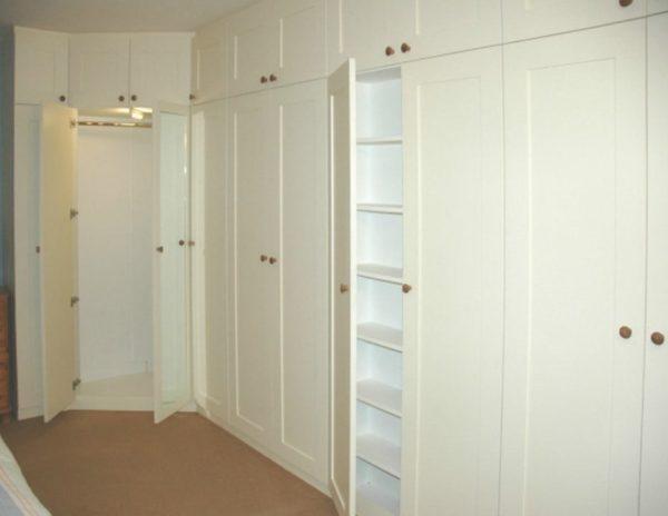 угловые шкафы под заказ  для Спальни
