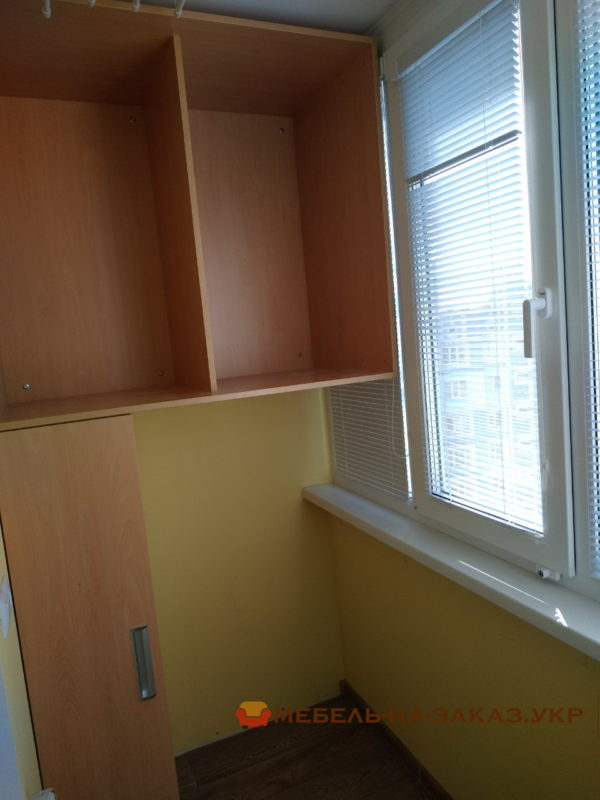 изготовление шкафа-купе на балкон