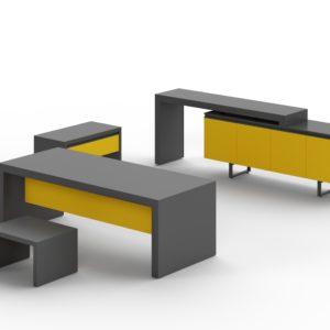 авторская офисная мебель