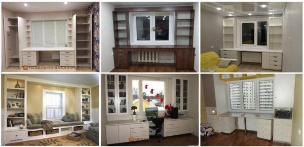 фотографии мебели вокруг окна
