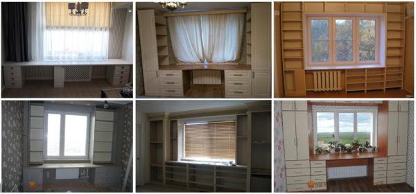 фотографии мебели вокруг окна Москва