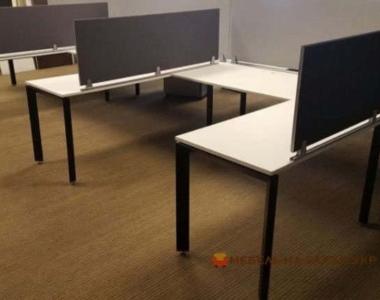 угловые LOFT из дерева в офис в переговорную