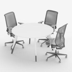 круглый стол для переговоров trend-round