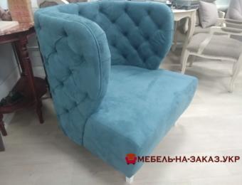 дизайнерское кресло с каретной стяжкой под заказ Чайкино