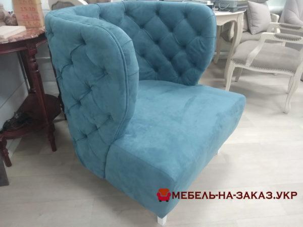 дизайнерское кресло с каретной стяжкой под заказ