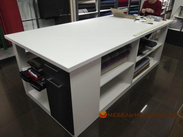 мебель для магазина тканей под заказ