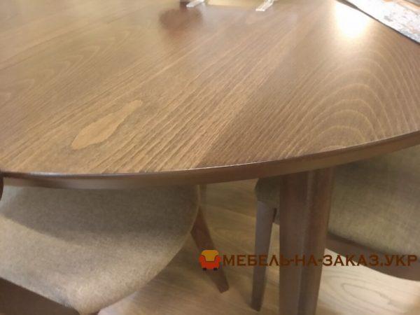 круглый деревянный стол киев