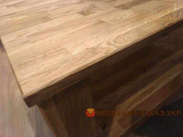 торец деревянной кухни на заказ в Киеве
