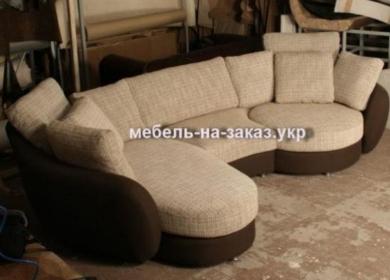 Заказать нестандартный диван борисполь