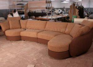 угловой радиусный диван