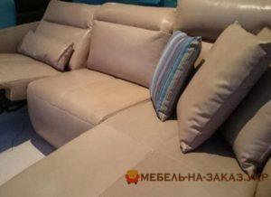 коричневый угловой диван Киев