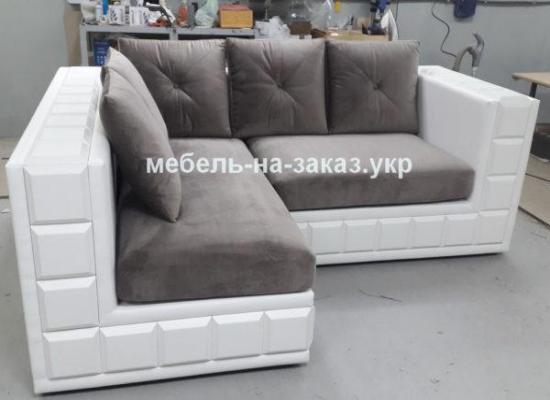 угловой маленький диван в Кухню свое производство