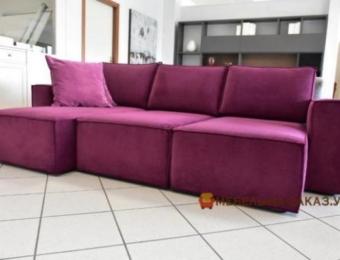 бескаркасный угловой диван