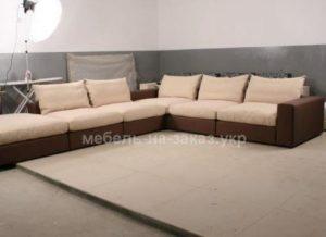 угловой диван для офиса под заказ