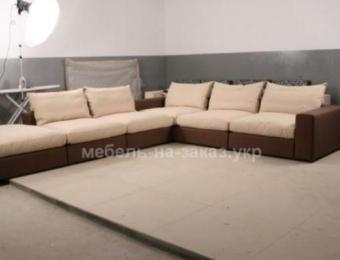 угловой диван для офиса под заказ Козин