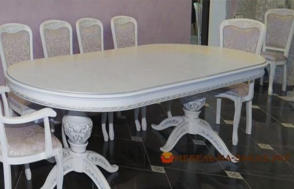 кухонный дубовый стол