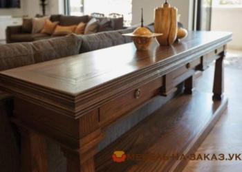 Изготовление деревянной мебели в гостинную