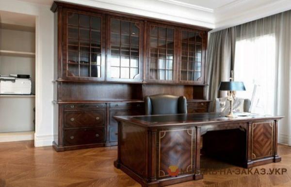 деревянный кабинет под заказ