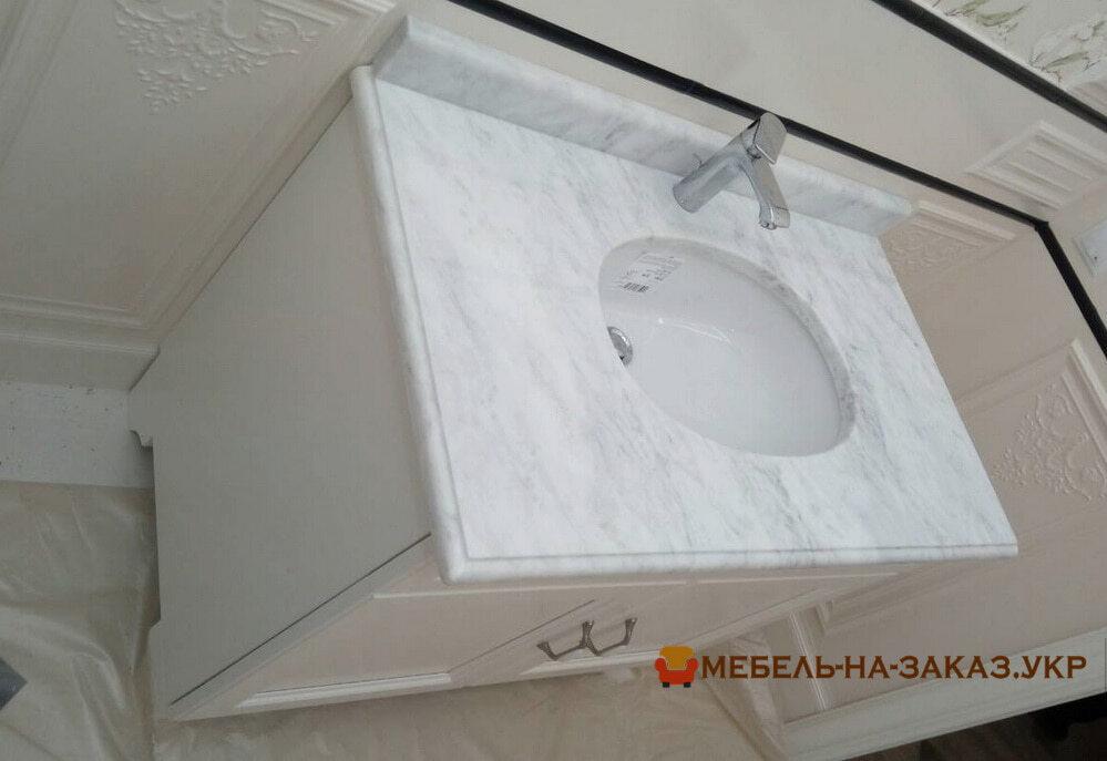 мебель в ванную из акрила на заказ Киев