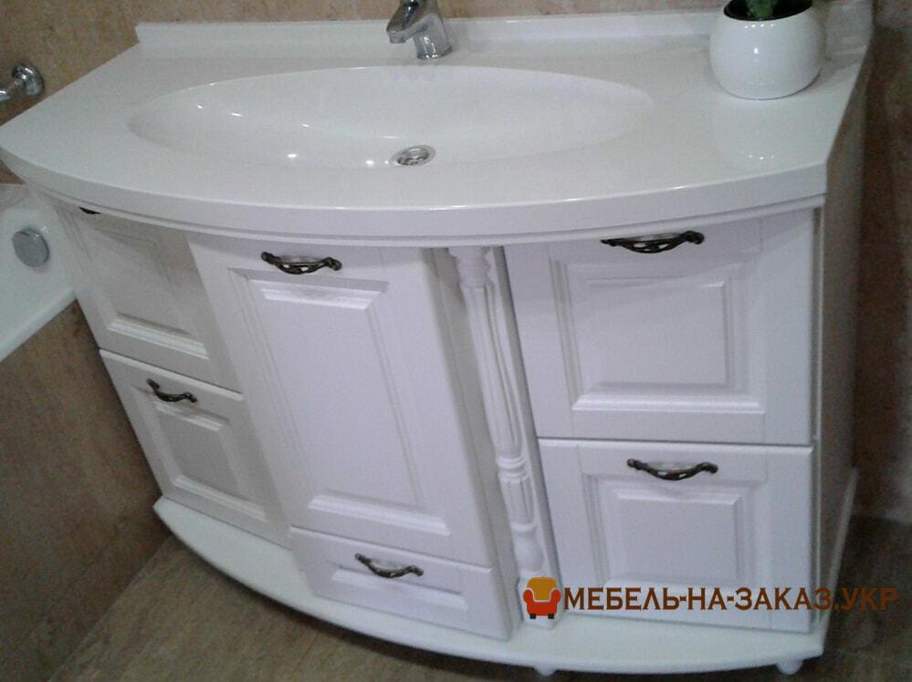 мебель в ванную из акрила