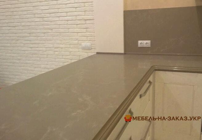 мраморная столешница для кухни под заказ