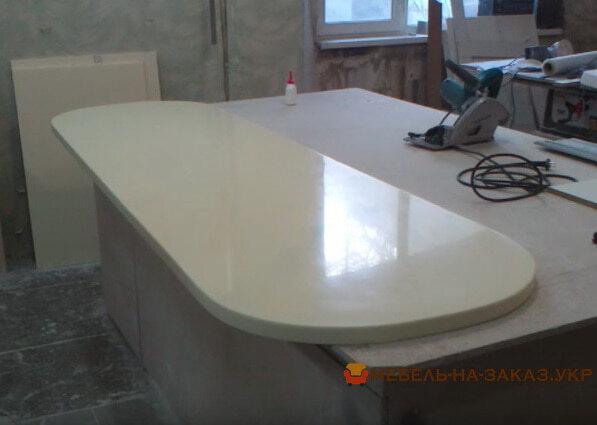 радиусная столешница для мебели
