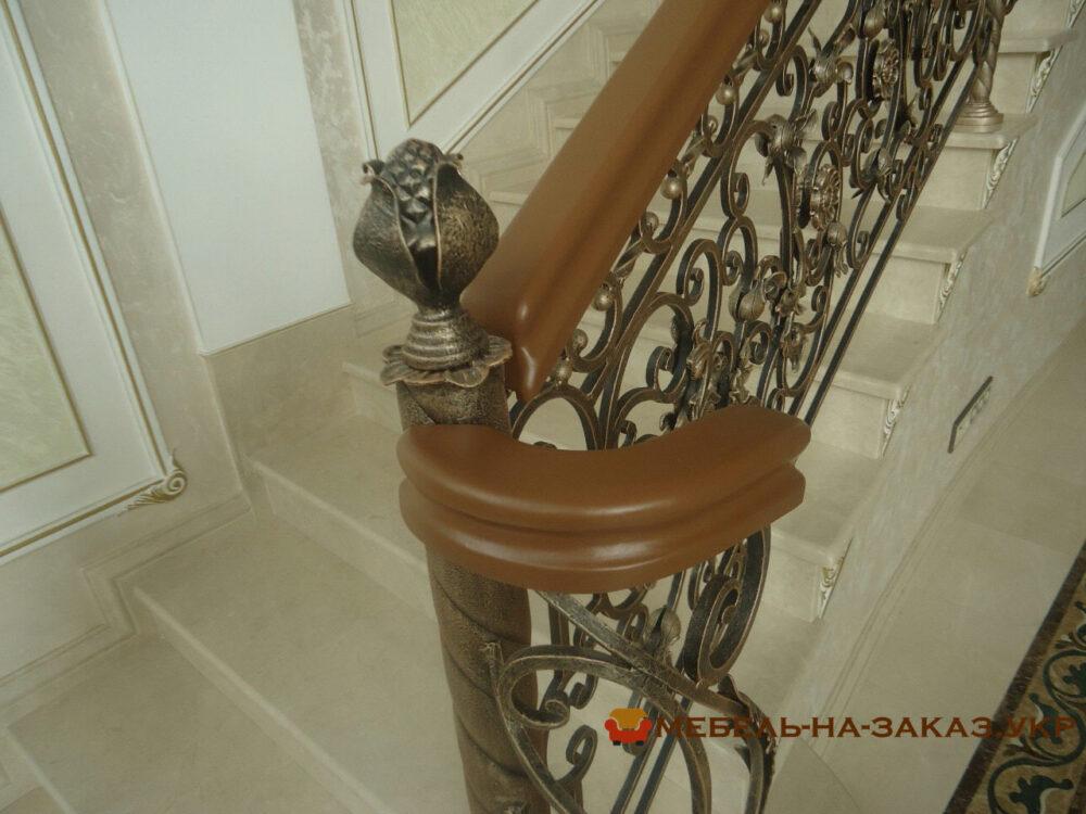 дизайн проект деревянной лестницы