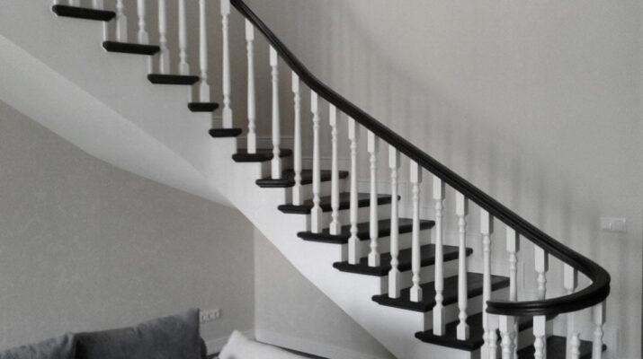 дизайн проект лестниц из массива
