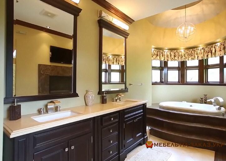 мебель в ванную из массива