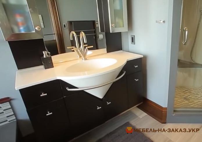 мебель в ванную из массива дуба