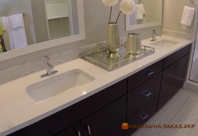 мебель в ванную из массива ясеня