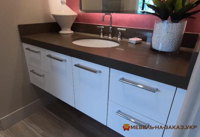 шкаф в ванную на заказ Ирпень цены