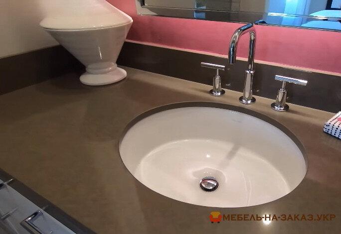 дизайн проект мебели в ванную под заказ