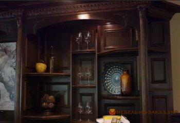 деревная мебель для кабинета