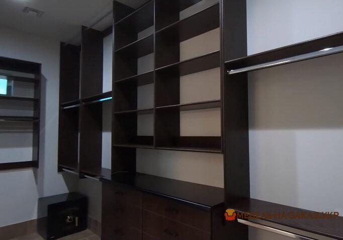 мебель для гардеробной комнаты под заказ