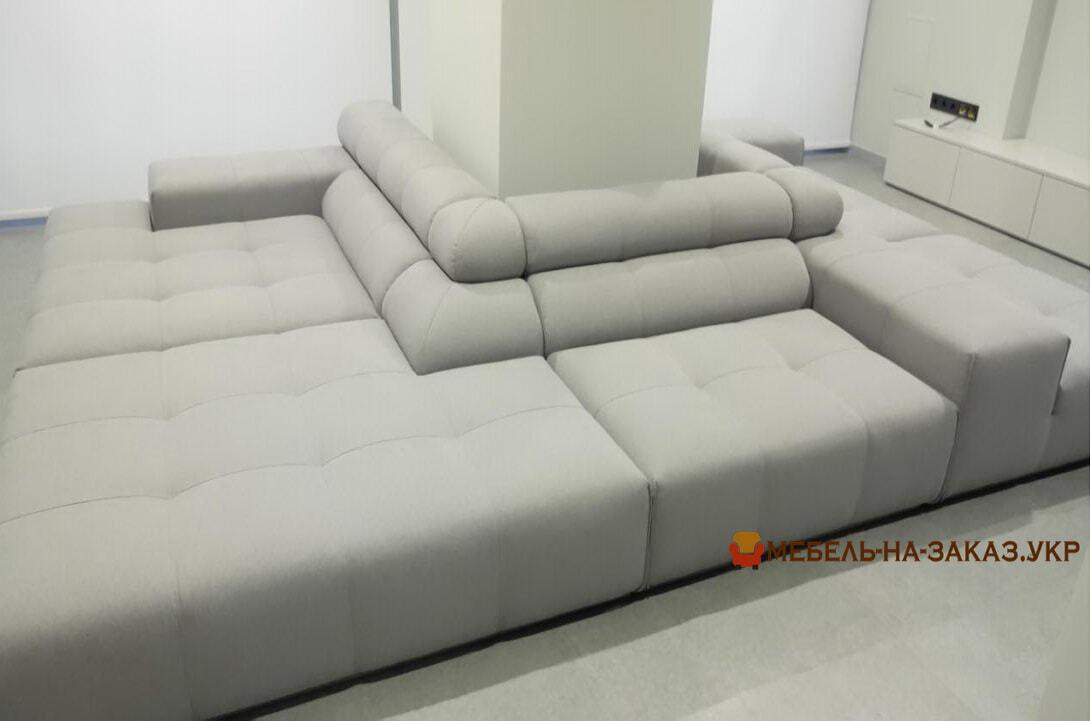 моудльный диван белый на заказ