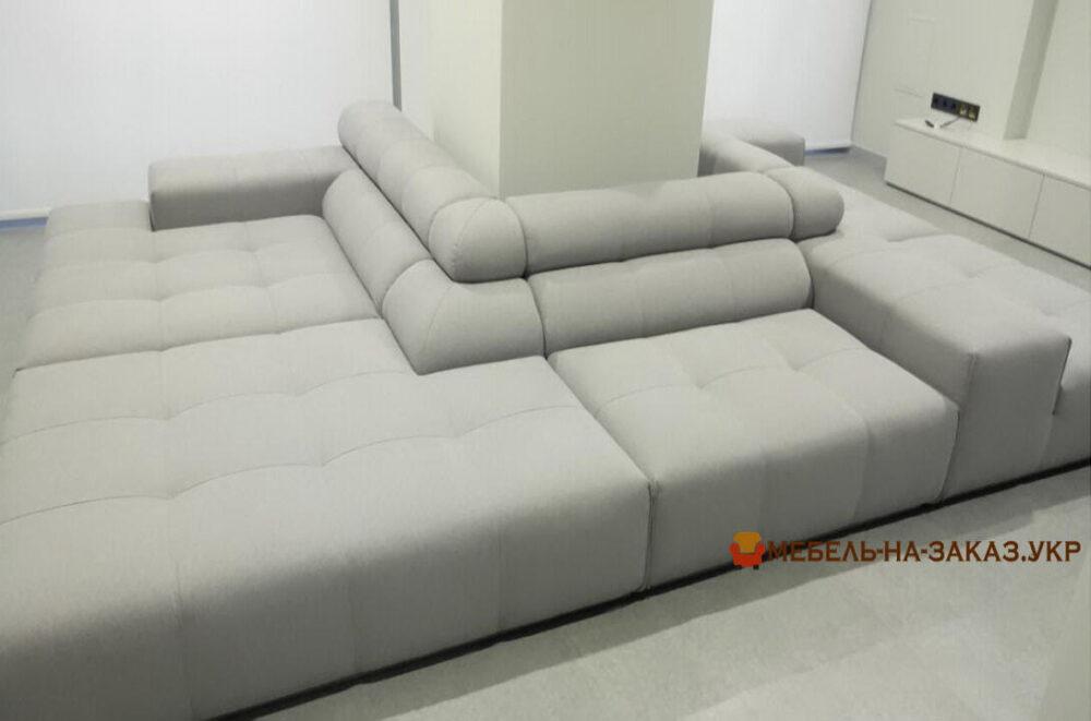 Модульный диван по периметру на заказ