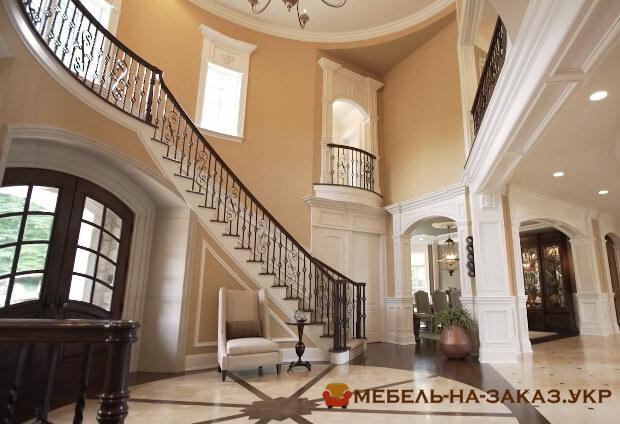 лестница в элитный дом под заказ