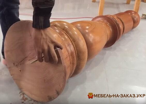 стоблики для лестниц из дерева