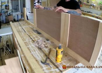 декорирование стен деревянными панелями на заказ