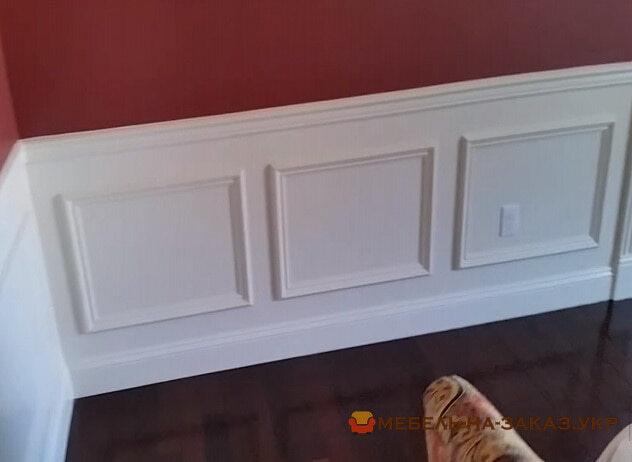 Декорирование стен ванерными панелями на заказ
