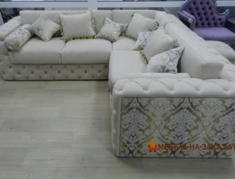 угловой диван в дом на заказ
