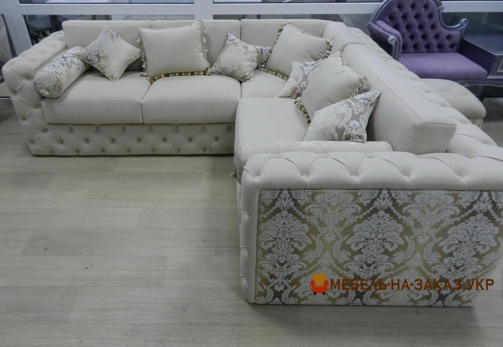 диван под заказ по индивидуальным размерам  для гостиной