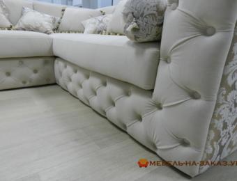 Угловая мягкая мебель в дом на заказ