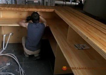как делают деревянные барные стойки под заказ Украина