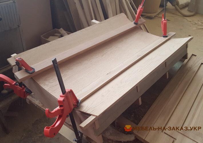 как делают деревянные барные стойки